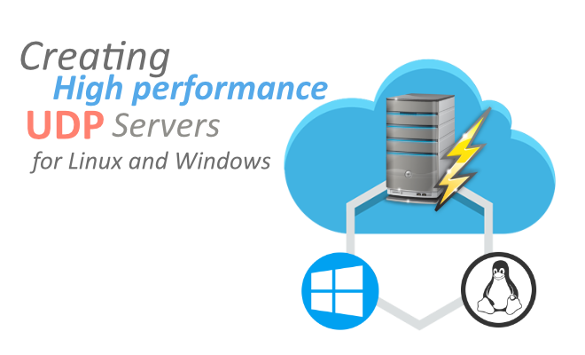 Creating high-performance UDP servers on Windows and Linux